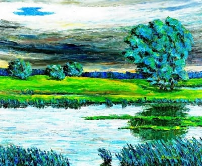 Картина «Перед грозой»