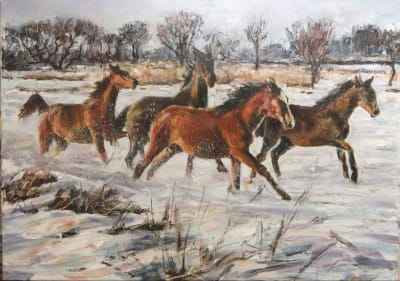 Картина «Перегонки с ветром» 2