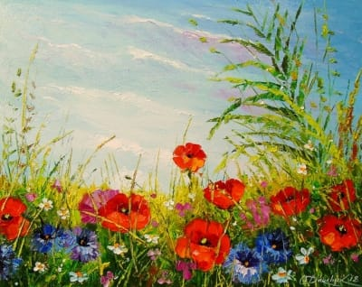 Картина «Поле цветов»