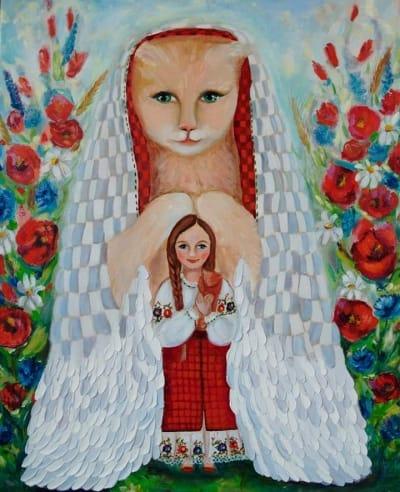 Картина «Радость материнства»