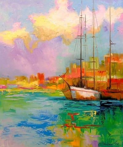 Картина «Радужный рассвет»