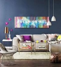 Картина абстракция «Focus on me» - живопись для современных интерьеров