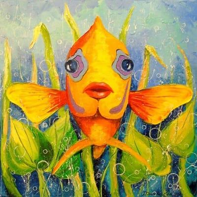 Картина «Рыба Ангел»