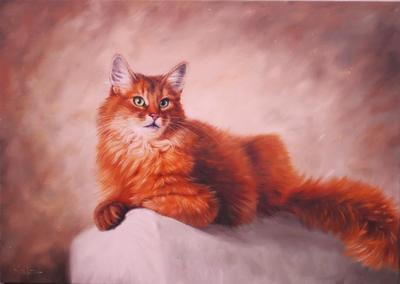 Картина «Рыженький» ПРОДАНА