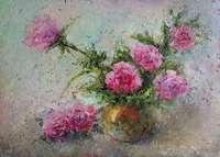 Картина «Розы - нежность в каждом лепестке»