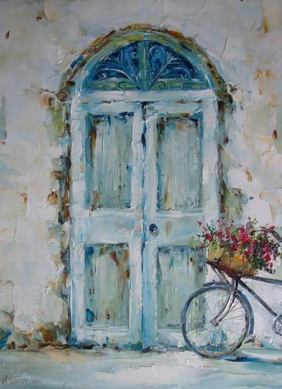 Картина «Велосипед»