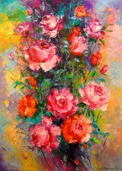 Картина «Розы» 8