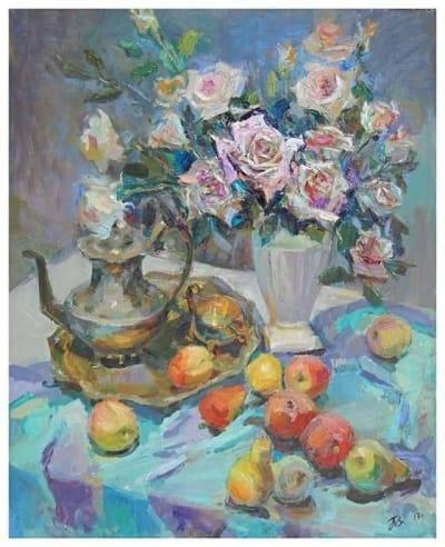 Картина «Розы» 11