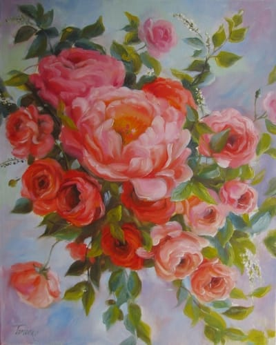 Картина «Розы» 9