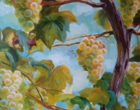 Картина «Сочный август» - живопись для современных интерьеров Украина