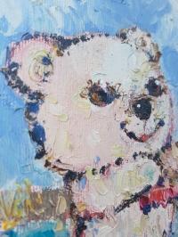 Картина «Самокатик»