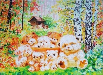 Картина «Счастливая семейка»