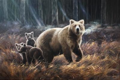 Картина «Медвежья семья»