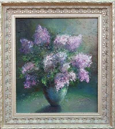Картина «Сиреневая весна»