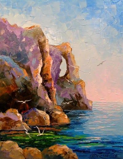 Картина «Скалистый берег»