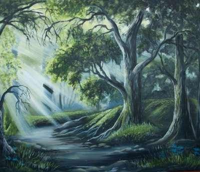Картина «Сказочный лес»