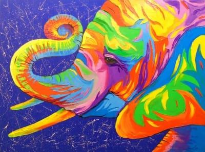 Картина «Слон» 3