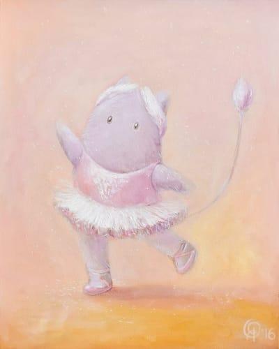 Картина для детской комнаты «Снежинка» купить картину маслом Киев