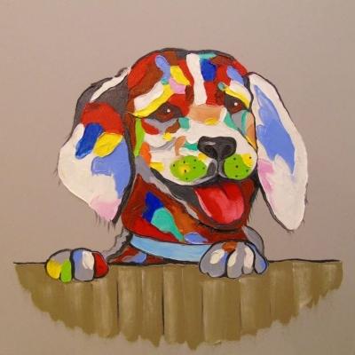 Картина «Собачка» 2