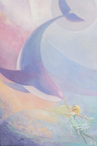 Картина детям «Созвездие» купить картину маслом Киев