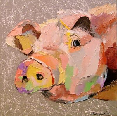 Картина «Свинка»