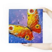 Картина бабочки «Свобода» купить живопись для современных интерьеров Киев