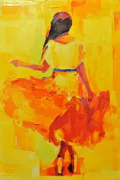 Картина «Танцовщица»