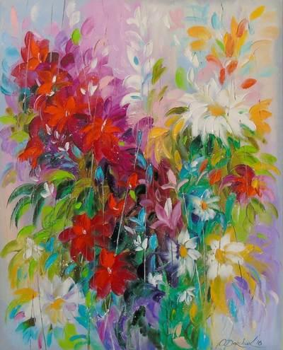 Картина «Танец цветов»