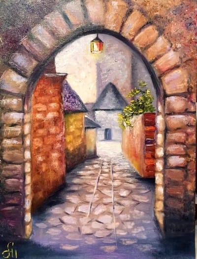 Картина «Таинственная арка»