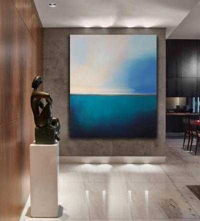 Картина для современных интерьеров «Ты - мое спокойствие» купить картину абстракция Киев