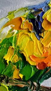 Картина птицы «Теплота чувств» - живопись для современных интерьеров Киев