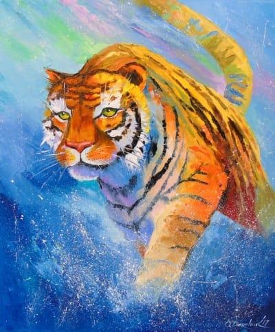 Картина «Тигр»