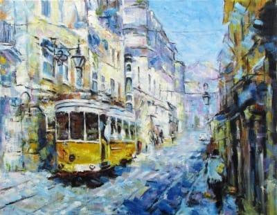 Картина «Трамвай»