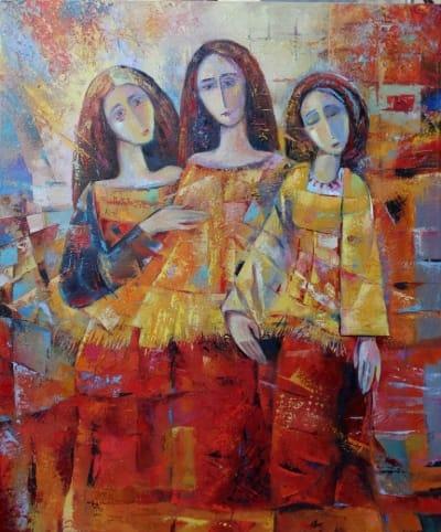 Картина «Троица»