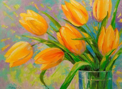Картина «Тюльпаны» 3