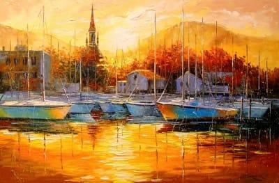 Картина «Турецкий закат»