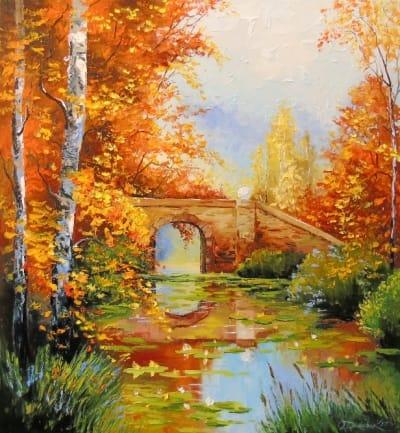 Картина «У пруда»