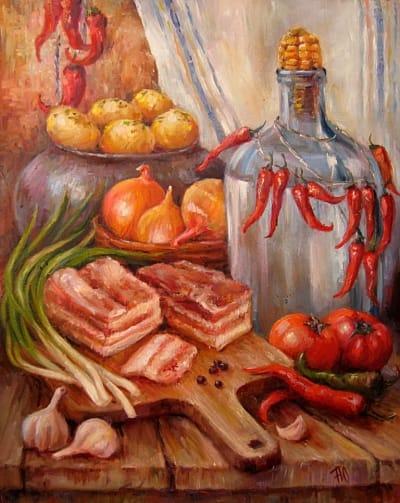 Картина «Украинский натюрморт» 3
