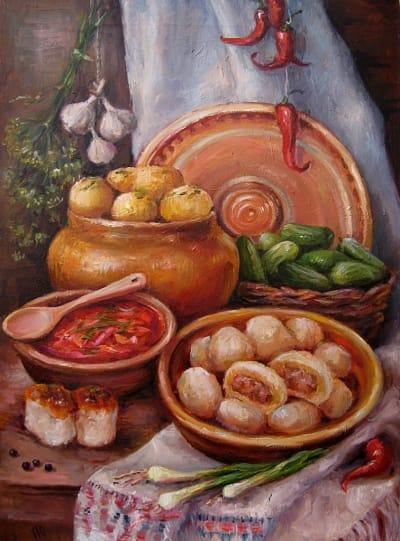 Картина «Украинский натюрморт» 4