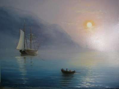 Картина «Крым. Аю-Даг. Утро»