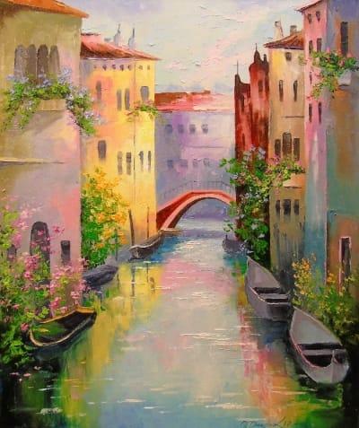 Картина «Утренняя Венеция»