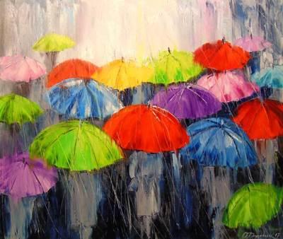 Картина «Утренний дождь»