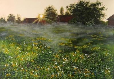Картина «Утро. Теплые тона»