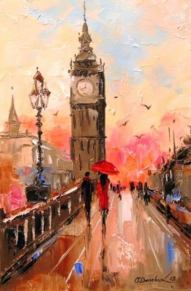 Картина «В Лондоне»