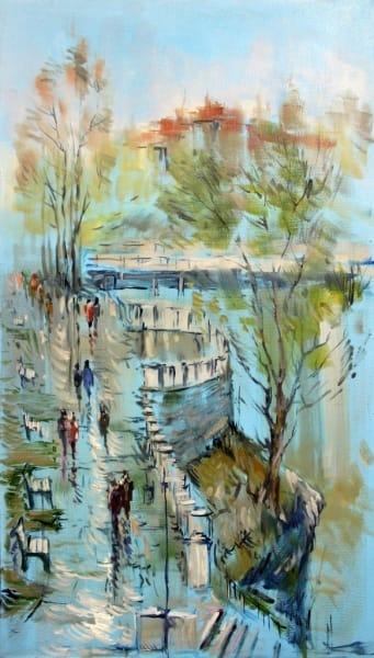 Картина «В парке»