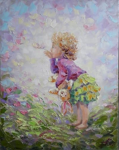 Картина «В условиях счастья»