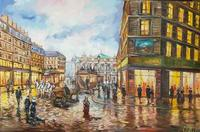 Картина «Как прекрасен вечерний Париж»
