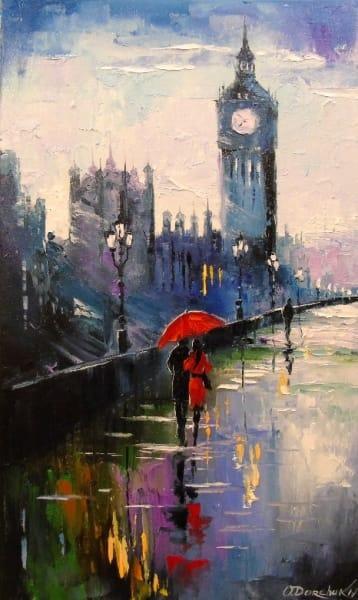 Картина «Вечерний Лондон» 2