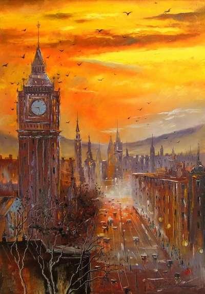 Картина «Вечерний Лондон»