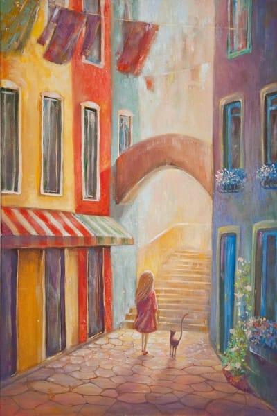 Картина для детской комнаты «Венеция» купить картину маслом Киев